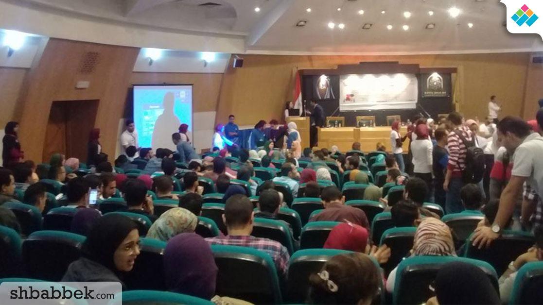 انطلاق الملتقى التوظيفي في جامعة حلوان بمشاركة 24 شركة ومؤسسة