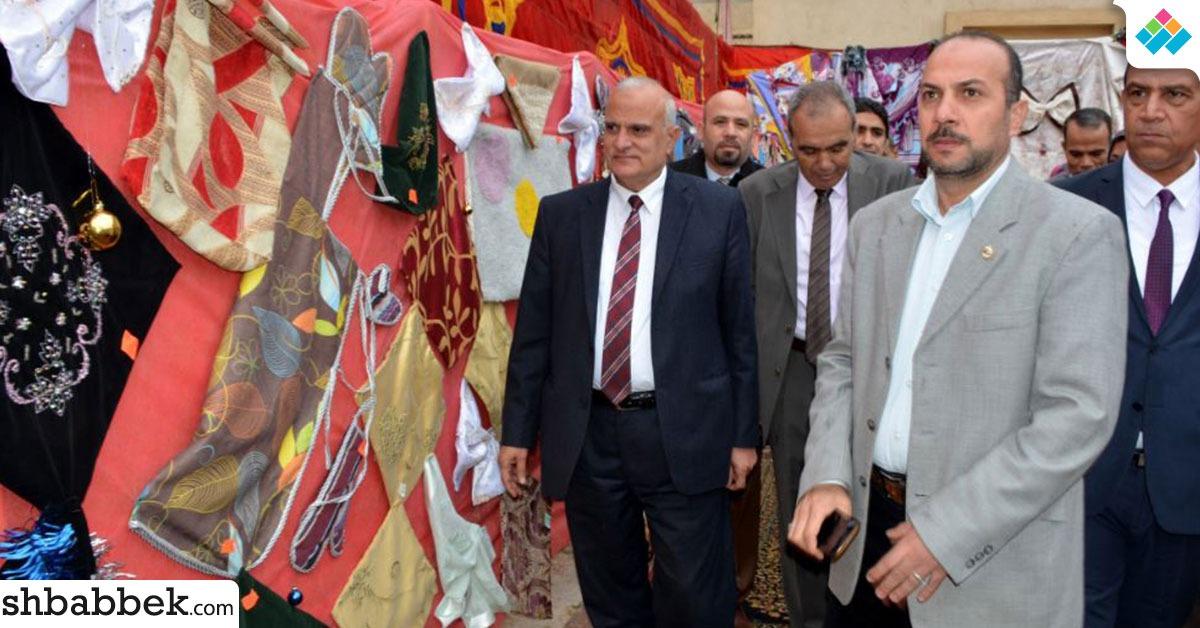 بالصور.. جامعة طنطا تفتتح المعرض السنوي للمنتجات الطلابية