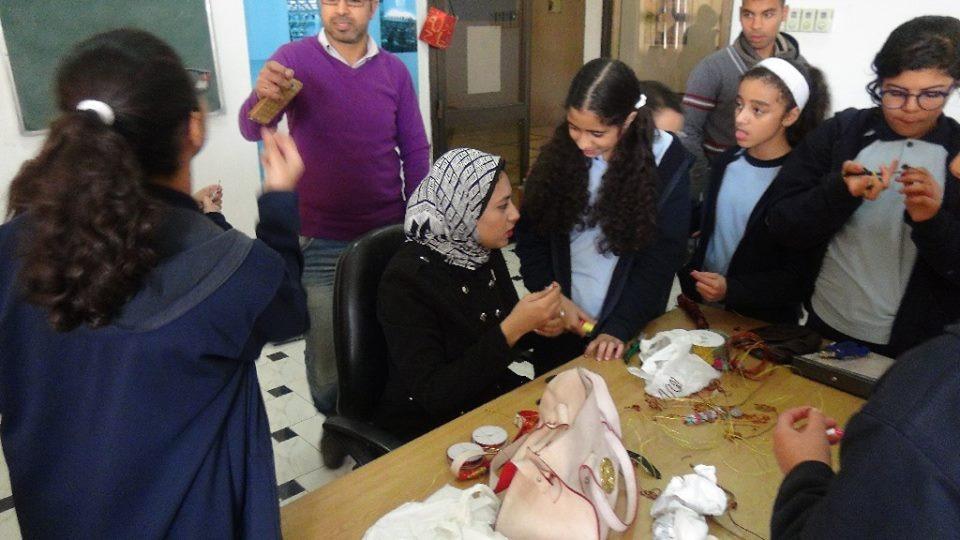 جامعة المنيا تنظم ورشة تدريبية بعنوان «هاند ميد»