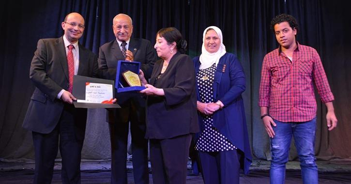 أسماء الطلاب والطالبات الفائزين في مهرجان المسرح بجامعة عين شمس