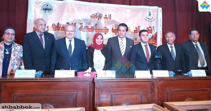 هند عبد الغفار نائبا لرئيس اتحاد طلاب جامعة القاهرة