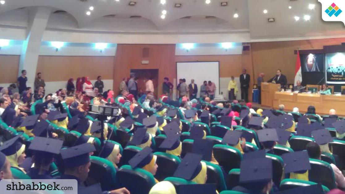 تكريم الخريجين بكلية الآداب جامعة حلوان