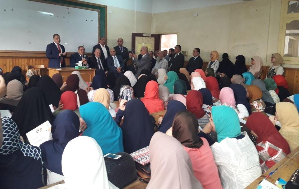 رئيس جامعة الأزهر يتفقد فرع الجامعة والمدن الطلابية بكفر الشيخ