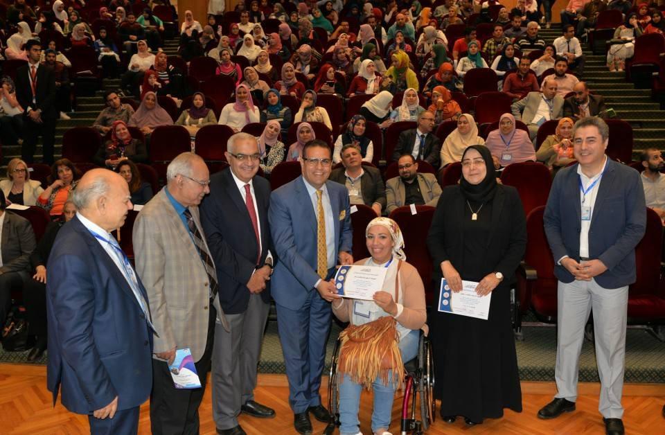 جلسات نقاشية حول دعم «ذوي الإعاقة» في جامعة المنصورة