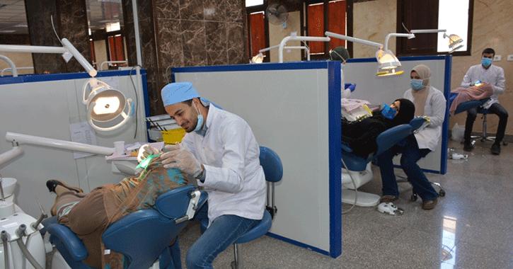 افتتاح قسم الأشعة والفم بمستشفى طب أسنان جامعة أسيوط