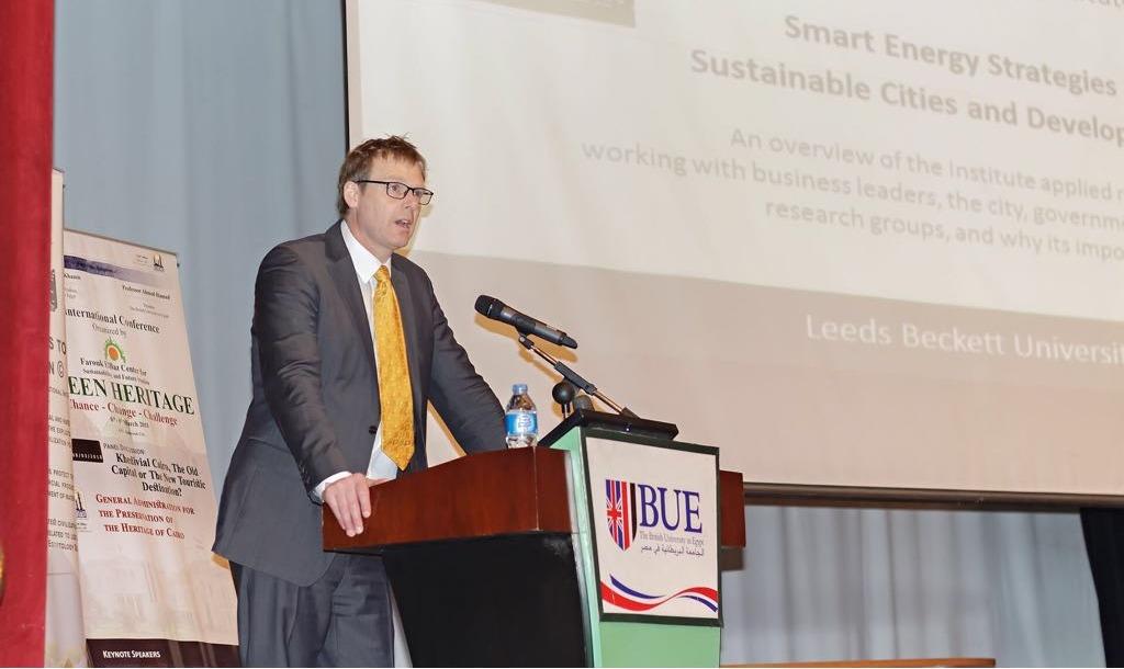 استمرار فعاليات مؤتمر التراث الأخضر بالجامعة البريطانية