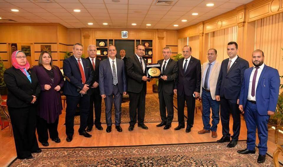 تجديد اتفاقية التعاون بين جامعتي المنصورة وفليكو ترنوفو البلغارية