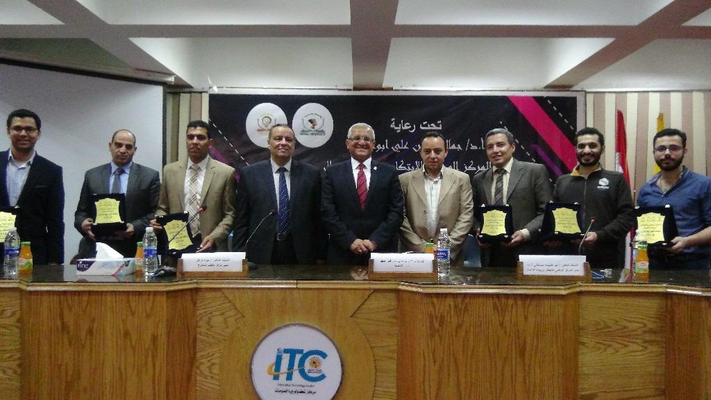 جامعة المنيا تنظم ملتقى رواد الأعمال للطلاب (صور)