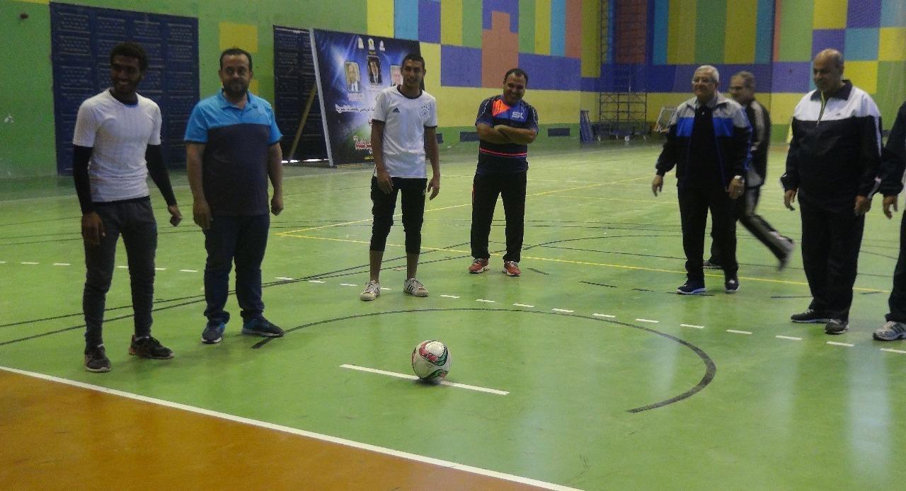 بـ«ضربات جزاء وشد الحبل».. انطلاق اليوم الرياضي بجامعة المنيا