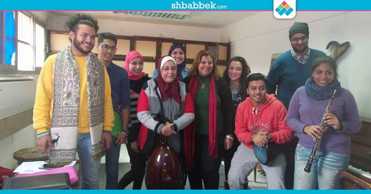 فعاليات مناهضة التحرش بتربية نوعية القاهرة