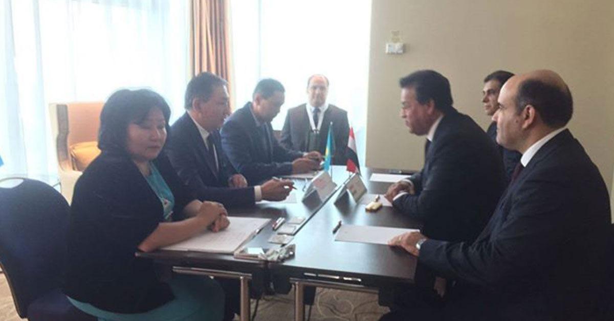 للتبادل العلمي والطلابي.. توقيع بروتوكول تعاون بين مصر وكازاخستان