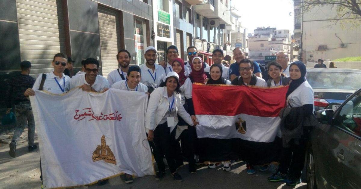 جامعة عين شمس تشارك في مهرجان المسرح الدولي بالمغرب