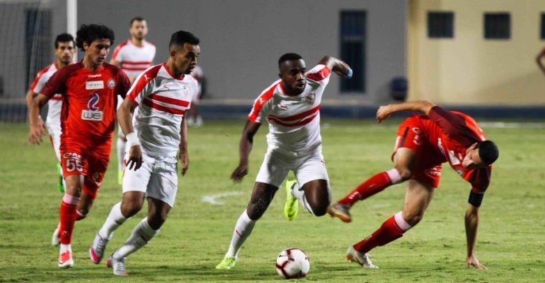 ترتيب الدوري المصري بعد مباراة الزمالك وحرس الحدود