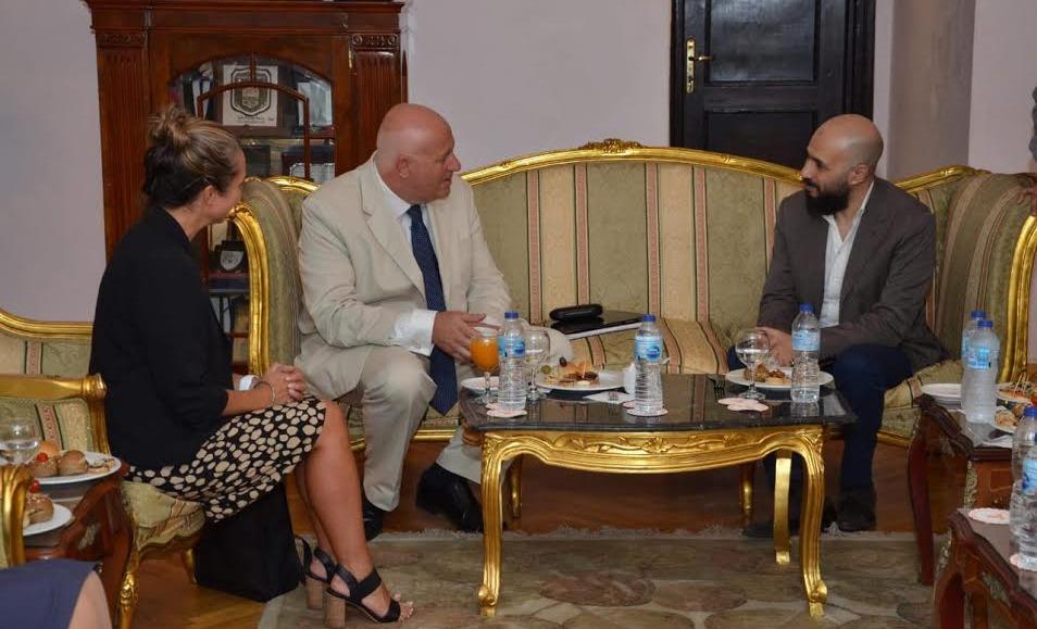 وفد من جامعة «Bedfordshire» البريطانية يزور جامعة مصر للعلوم والتكنولوجيا