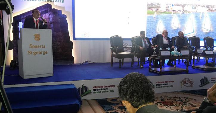 انطلاق المؤتمر الدولي العاشر لعلاج الأورام بجامعة أسيوط