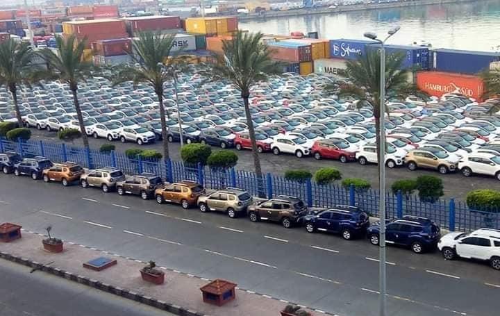 شاهد ميناء الإسكندرية يعلق على تكدس السيارات بعد نجاح «خليها تصدي»