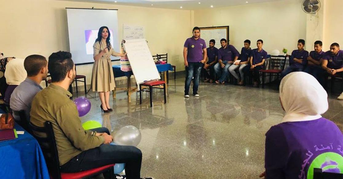 ختام المعسكر التدريبي المشترك بين وحدتي مناهضة التحرش بجامعة القاهرة والفيوم