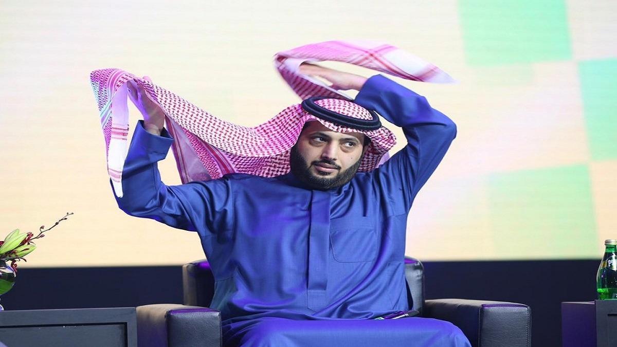صورة صادمة من ترك آل الشيخ لجمهور الأهلي