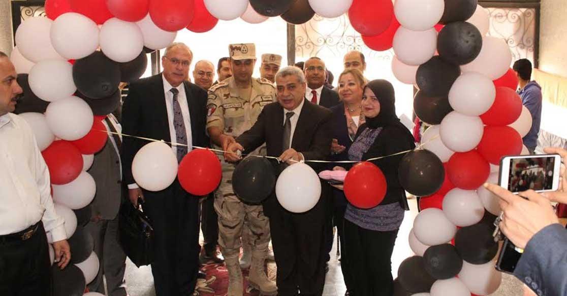 جامعة طنطا تقيم معرضا للفنون التشكيلية ضمن احتفالات عيد تحرير سيناء