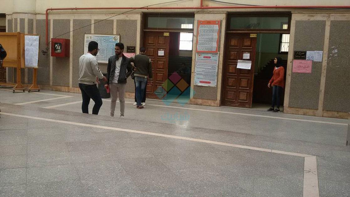 الهدوء يسيطر على لجان إعادة انتخابات اتحاد جامعة المنصورة