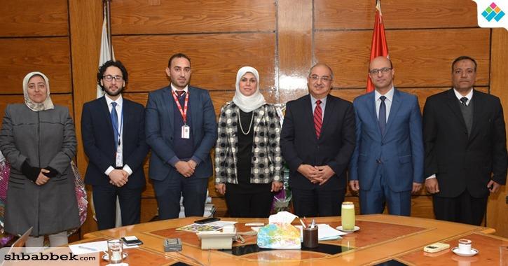 تعاون بين جامعة أسيوط والمجلس الثقافي البريطاني في مصر (صور)