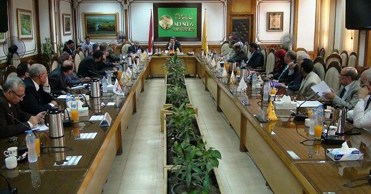 استعدادات جامعة المنيا للعام الدراسي الجديد.. أنشطة وخدمات طلابية ودعم غير القادرين