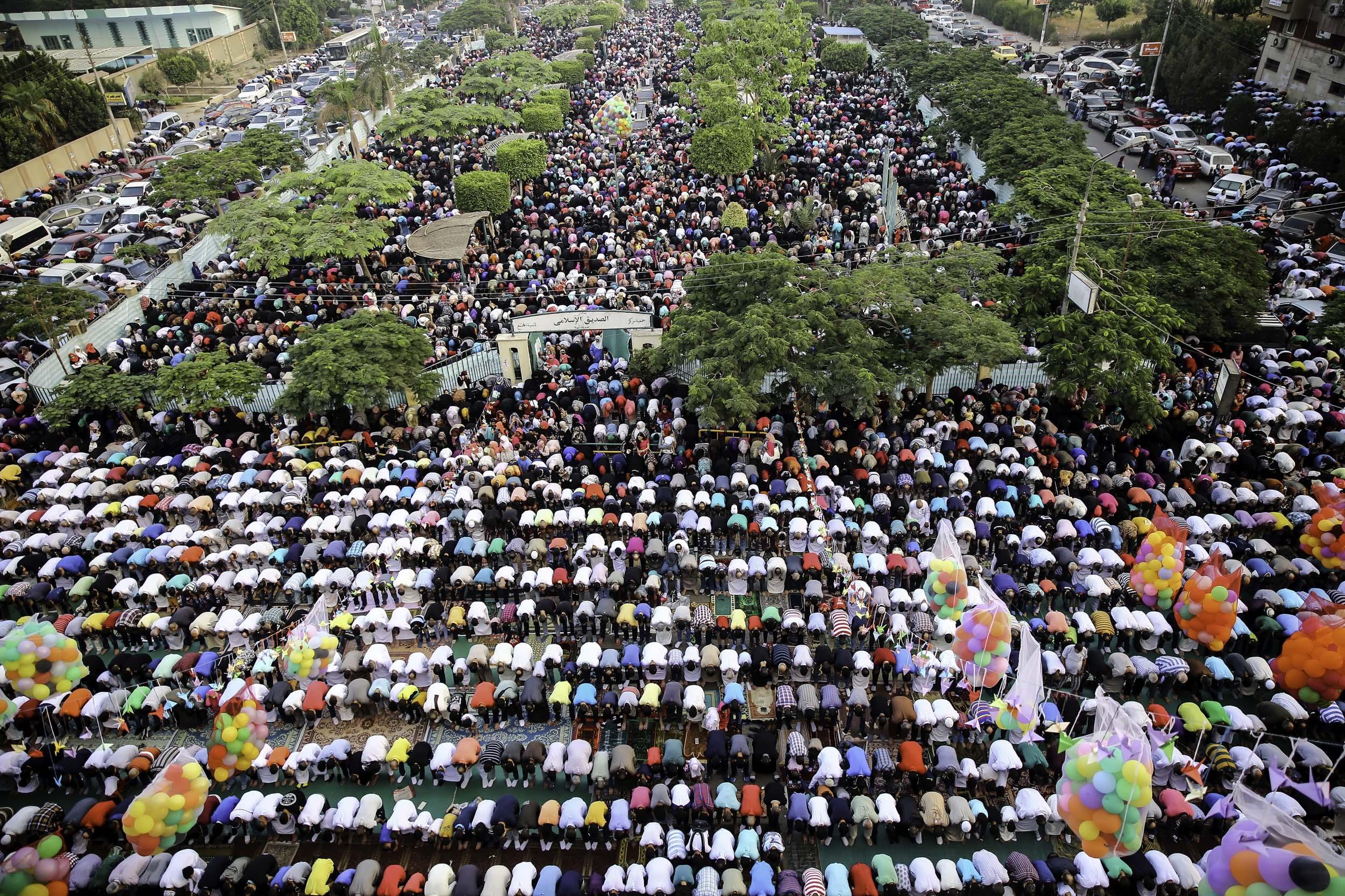 محافظة الغربية توفر 337 ساحة لصلاة عيد الفطر المبارك