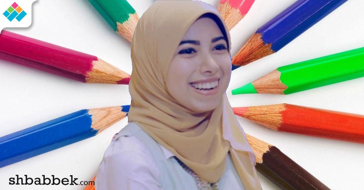 آية هاني ترسم بالنوتيلا والعسل.. الطعام ليس للتذوق فقط (فيديو)