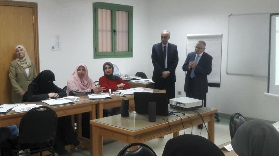 جامعة الأزهر تفتتح برنامجا تدريبيا لتنمية مهارات أعضاء هيئة التدريس