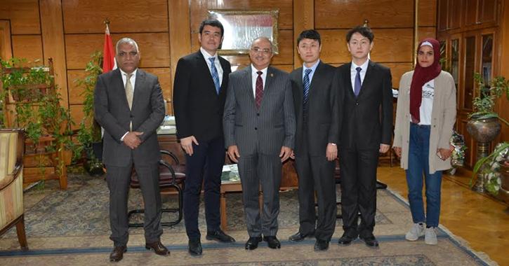 اتفاقية تعاون بين جامعتي أسيوط وشمال الصين في الطاقة الجديدة والمتجددة