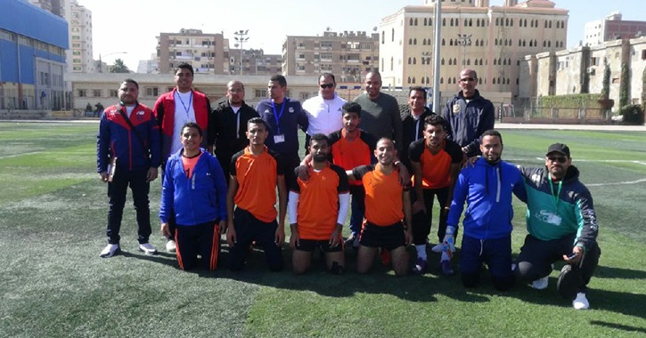 جامعة المنيا تفوز بالبرونزية في منافسات الاسكواش بأسبوع شباب الجامعات الـ12