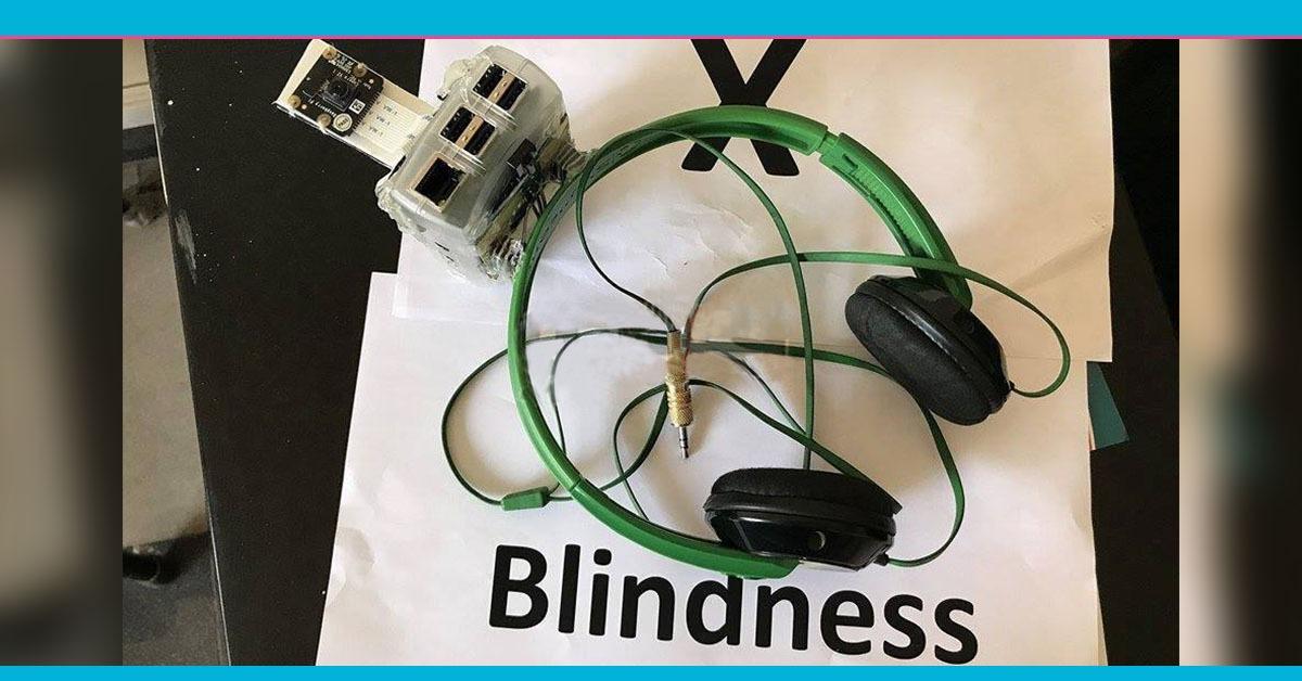 يميز العملات النقدية ويقرأ النصوص.. «X-Blindness» يرى بدلا من المكفوفين