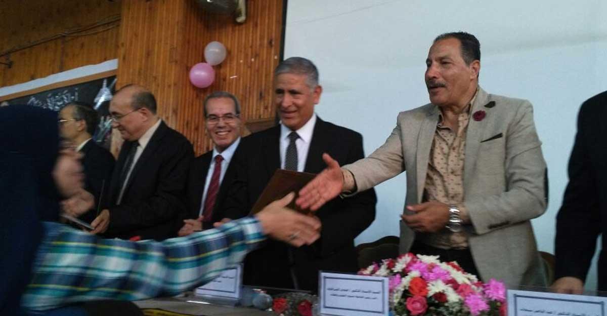 حفلات استقبال للطلاب الجدد بتربية وعلوم عين شمس