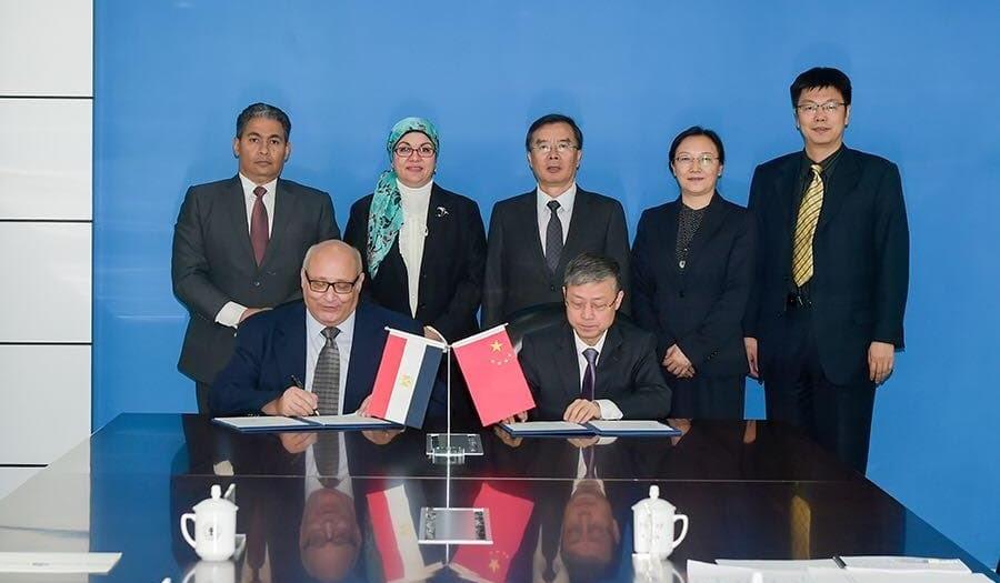 توقيع مذكرة تفاهم بين جامعة عين شمس و«بكين» للمواصلات