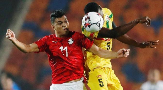 مصطفى محمد يتعادل لمنتخب مصر الأولمبي أمام غانا فيديو شبابيك