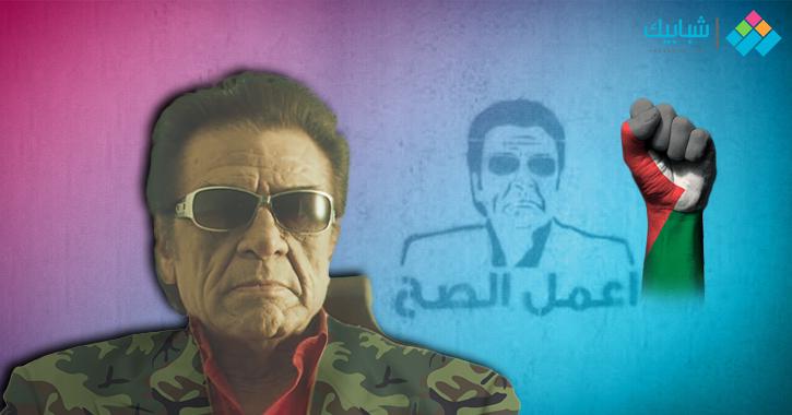 غسان مطر.. الفلسطيني شرير الشاشة الذي فقد عائلته في سبيل النضال