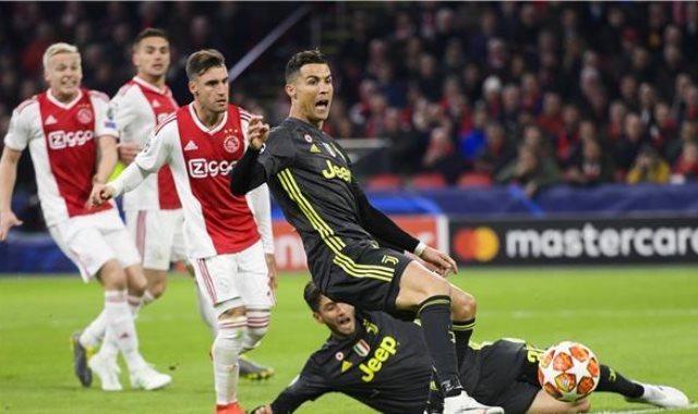 نتيجة مباراة يوفنتوس ضد أياكس في دوري أبطال أوروبا