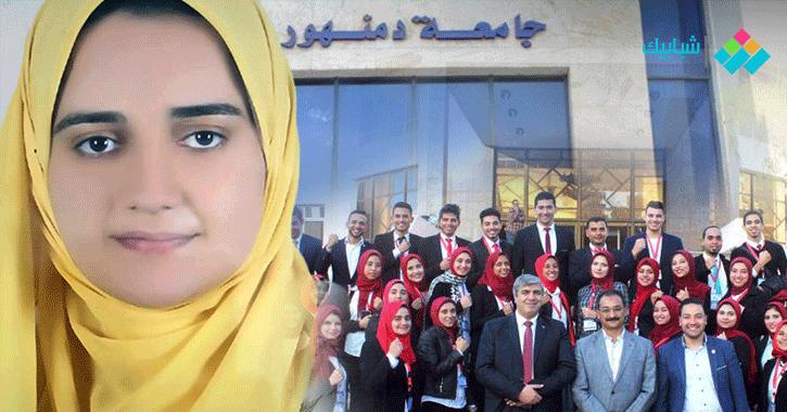 الطالبة إسراء ضرغام.. رائدة نشاط منذ الابتدائية وتحلم بمنصب وزيرة الثقافة