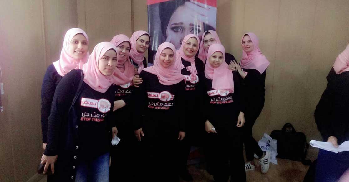 «العنف مش حل».. حملة طلابية ضمن مشاريع تخرج إعلام طنطا