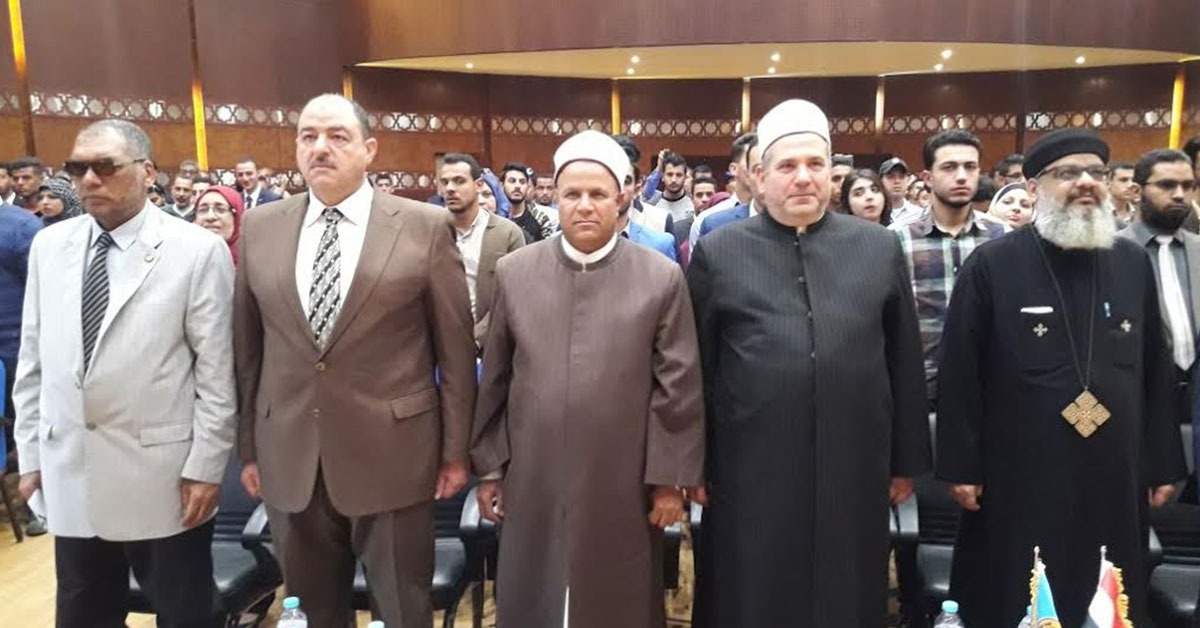 ممثل الكنيسة المصرية يحث طلاب الأزهر على المشاركة في الانتخابات الرئاسية