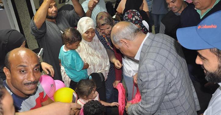 حملة «نبضات» تجري 150 عملية قلب أطفال بمستشفى جامعة كفر الشيخ