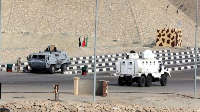 الجيش يتصدى لهجوم «انتحاري» على مقر الكتيبة 101 بالعريش
