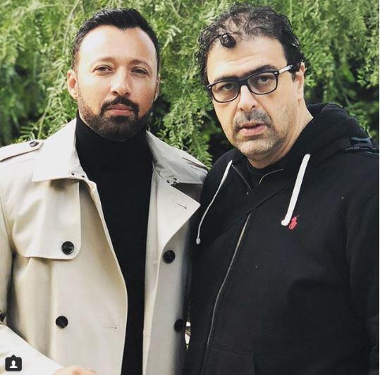 أحمد فهمي ومخرج مسلسل أنا شهيرة وأنا الخائن