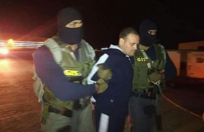 فيديو وصول هشام عشماوي إلى مصر في طائرة للجيش
