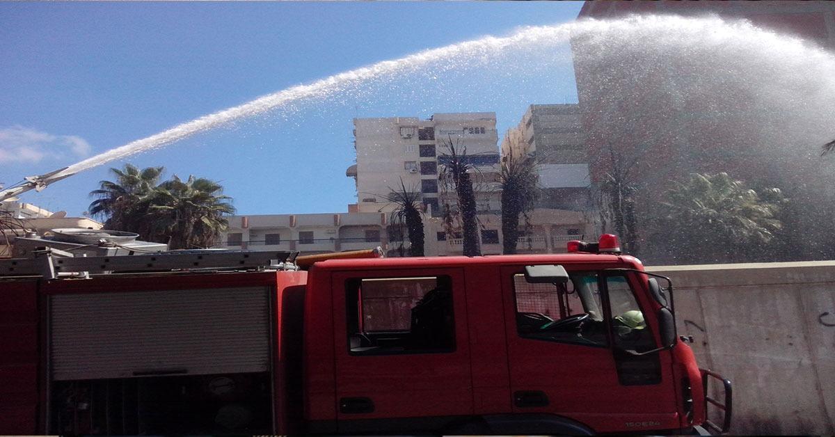 إصابة 10 طلاب بجامعة الأزهر في حريق بمدينة البعوث