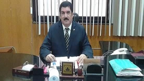 علاء عبد الحليم مشرفاً على الدراسات العليا والبحوث بجامعة بني سويف