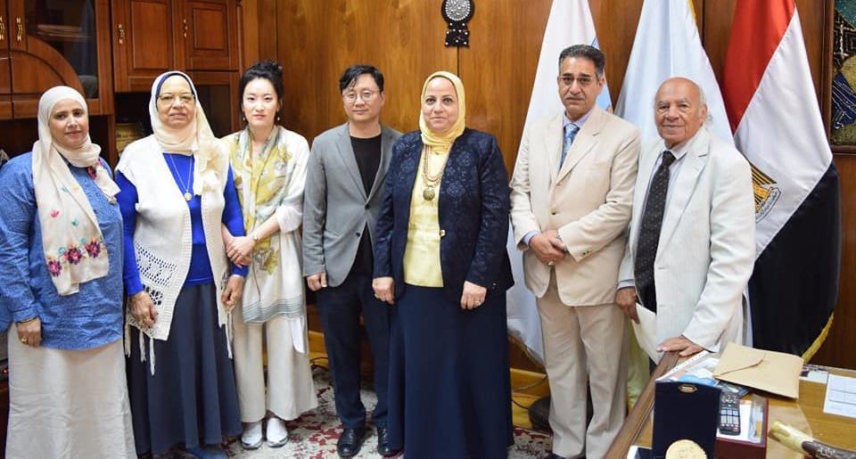إنشاء دبلومة «خط عربي» بجامعة الإسكندرية بالتعاون مع كوريا