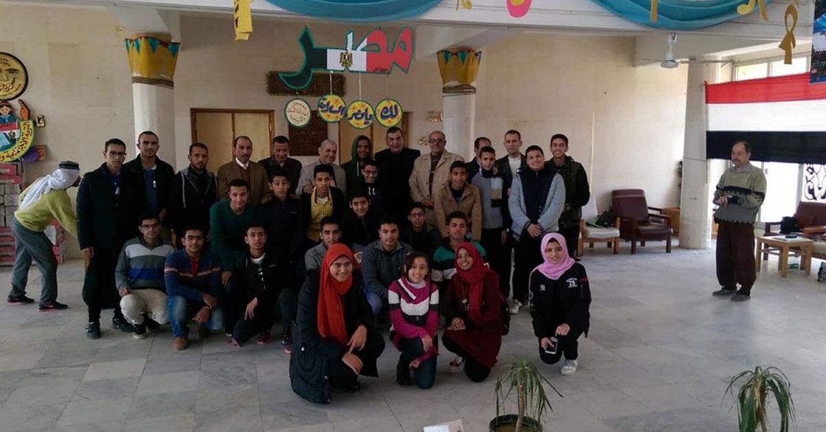 بالصور.. «التربية والتعليم» تنظم معسكرات لطلاب 12 محافظة في الإسماعيلية