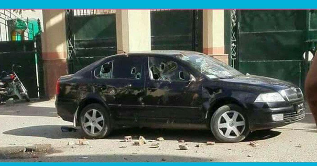 جامعة الفيوم تقرر معاقبة طلاب حطموا سيارة عضو بمجلس النواب