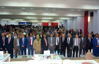افتتاح مؤتمر شباب الباحثين الأول بكلية حقوق أسوان